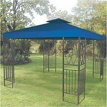 Aluminium Pavillon 3x3m Blau