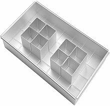 Aluminium Rechteckige Kuchenform Backform