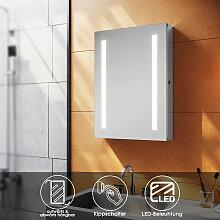 Aluminium Spiegelschrank LED mit Beleuchtung mit