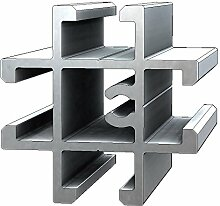 Aluminium T-Nuten Kreuz-Verbindungsprofil PV39, 15