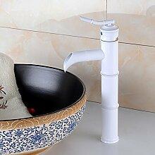 Aluminium Toilette Wasserhahn Einhebel Einlochmontage in Raum Mischung warm-und Kaltwasser-Armatur