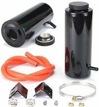 Aluminiumlegierungs-Schwarz-Universalkühler-Kühlmittel-Auffangtank des Aluminium-800ml