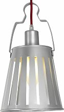 Aluminor Nomade G Wandlampe (40W, E27), Grau