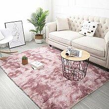ALUN Teppich Grey Carpet Tie Dyeing Plush Weiche