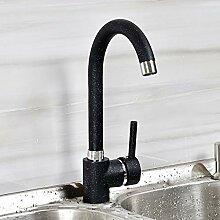 ALUNE Wasserhahn Messing Küchenarmaturen heiß