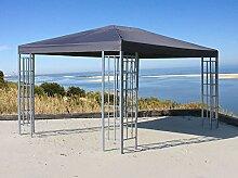 Aluoptik Pavillon 3x4m Anthrazi