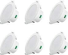 ALUX LED Einbaustrahler Dimmbar Ultra flach 12W