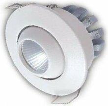 alverlamp ld03rb40-Einbauleuchte Rund neigbar