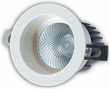 alverlamp ld08rf30-Rund Einbauleuchte starr