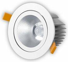 alverlamp ld15rb30-Einbauleuchte Rund neigbar