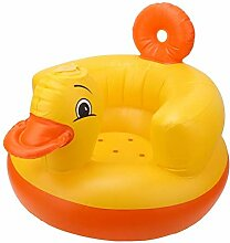 Alvinlite Ente Aufblasbare Babybadestuhl Sofa