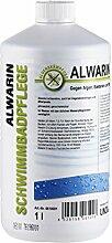 Alwarin-S Algenmittel 1L gegen Algen, Bakterien und Pilze im Schwimmbecken, absolut schaumloses Säubern von Pool Wassern