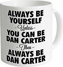 Always be Dan Carter Becher, Weiß