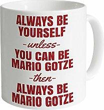 Always Be Mario Gotze Tasse