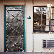 Alwayspon Modern Art 3D-Tür-Aufkleber,