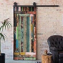 Alwayspon Modern Art Holz-Tür-Aufkleber,