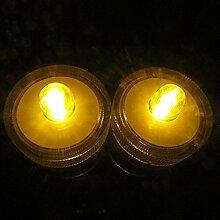 alxcio LED Kerzen flammenlose Teelichter