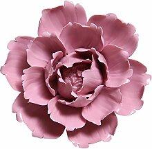 ALYCASO DM Handarbeit Keramik Blumen Wand Decor
