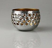 AM Design Schwimmlicht silber/gold, groß