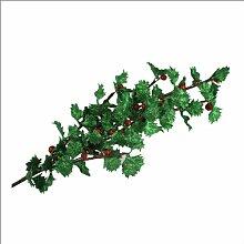 AM-Design Stechpalmenzweig Ilex grün-rot ca. 60cm lang