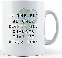 Am Ende nur bedruckte Tasse