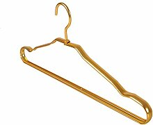 Amadoierly Space Aluminium-Legierung Racks Haushalt Metall Kleiderbügel Kleiderschränke,10,Gold