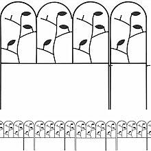 Amagabeli 46cm X 10.7m Gartenzäune Aus Metall Set
