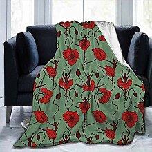 Amanda Walter Blanket Poppy Blumengesteck mit
