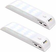 Amanka 2pcs LED Nachtlichter, LED mit
