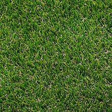 AMANKA Kunstrasen 200x100cm Rasenteppich 30mm Kunstrasen-Teppich 2600g/m² Künstlicher Rasen Wasserdurchlässig Grün