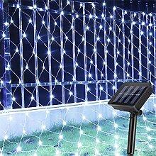 Amars Garten-Netz-Lichterkette, 3 x 2 m, 204 LEDs,