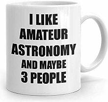 Amateur Astronomie Becher für Hobby Süchtigen