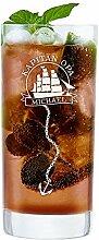 AMAVEL Cocktailglas mit maritimer Gravur -