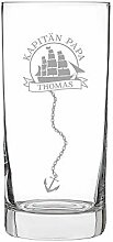 AMAVEL Longdrinkglas mit maritimer Gravur –