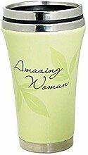 Amazing Woman Ceramic Travel Mug