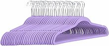 Amazon Basics– Anzug-Kleiderbügel, beflockt,