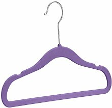 Amazon Basics – Kinder-Kleiderbügel, beflockt,