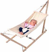 Amazonas Baby-Hängematte mit Holzgestell