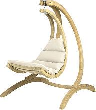 Amazonas Swing Chair Hängesessel Creme Mit