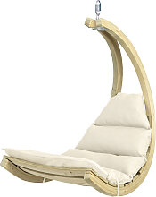 Amazonas Swing Chair Hängesessel Creme Ohne