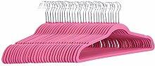 AmazonBasics– Anzug-Kleiderbügel, beflockt,