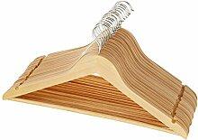 AmazonBasics Kleiderbügel aus Holz, 16 Stk.