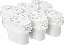 AmazonBasics Wasserfilter kartuschen, 6 Stück,