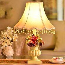 Amber europäische pastoralen kreative wohnzimmer lampe schlafzimmer mit lampen und leuchten