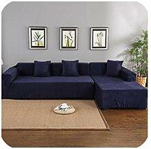Amber furniture-Sofa Cover Samtbezug für Ecksofa,