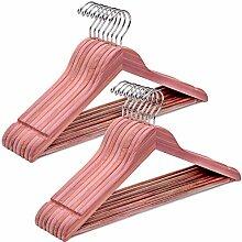 Amber Home Kleiderbügel aus amerikanischem rotem
