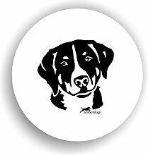 amberdog Appenzeller Sennenhund Sticker Auto