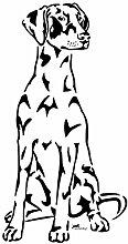 amberdog Dobermann Autoaufkleber Art.Nr.AT0152,