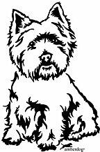 amberdog West Highland White Terrier Westie