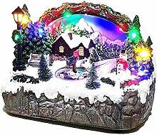 ambestore Spieluhr Beleuchtet Weihnachten LED